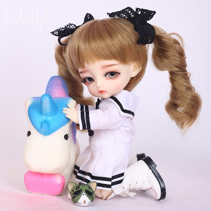 Lutsbjd Luts Tiny Delf Alice 1/8 BJD Doll Resin Figures Luts AI YOSD Kit Doll Toys For Girls Birthday Xmas Best Gifts все цены