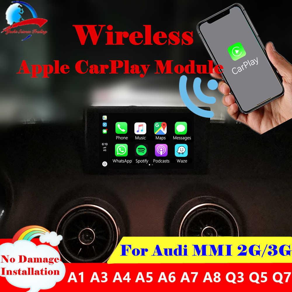 Aftermarket A6 A7 C7 MMI 3G MIB B9 OEM Apple Carplay Android Auto
