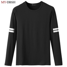 2019 Summer Round Neck Long Sleeve Cotton Casual T Shirts Me