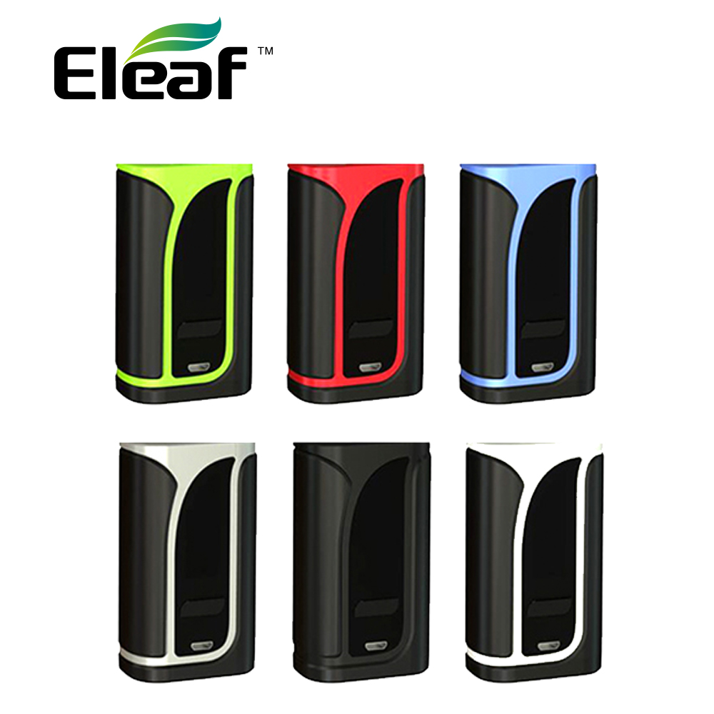Original 200W Eleaf IKuun I200 TC Box MOD Built-in 4600mAh Battery Electronic Cigarette IKuun I200 Vs Eleaf IKonn 220 MOD E-cig original electronic cigarette mod vape pen smoant charon 218w tc box mod mechanical mod leather cover free shipping