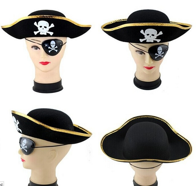 Hot Sale Caribbean Hats For Childs And Adult Birthday Party School Skull Pattern Pirate Bucket Hat Cap On Aliexpress