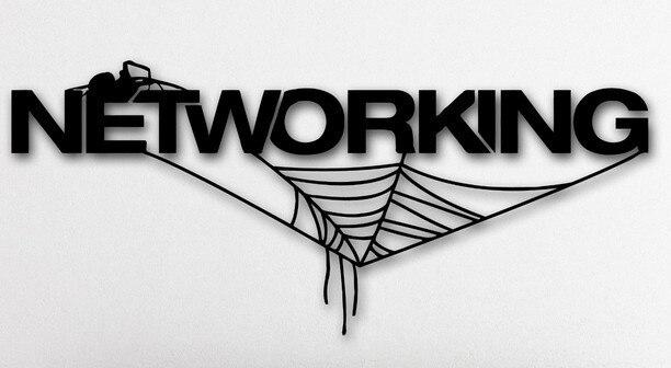 creative office wall art. creative networking internet vinyl wall sticker spider web technology it mural art decal shop office