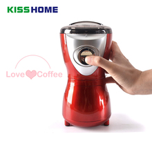 Coffee Electric Grinder Stainless Steel Blade Red Household Mini Multi-function Bean Grain Mill Tools