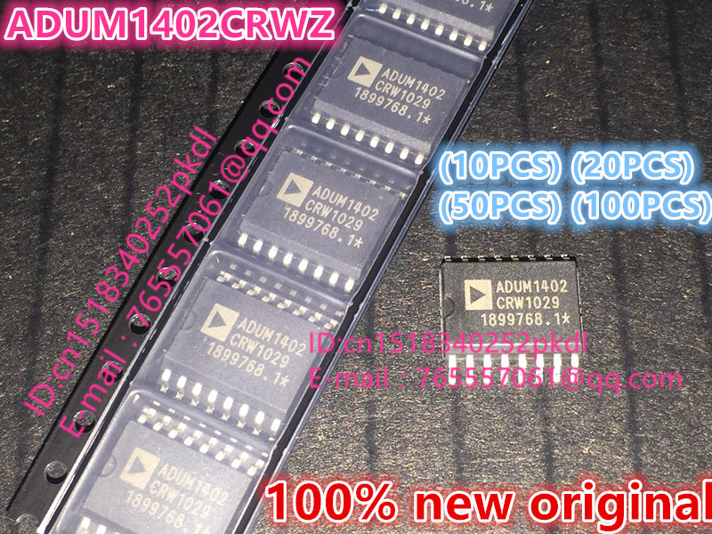 (10PCS) (20PCS) (50PCS) (100PCS) 100% new original ADUM1402CRWZ-RL ADUM1402CRWZ ADUM1402 SOP16 Digital Isolator chip 10pcs 20pcs 50pcs 100pcs 100%new original acs715llctr 20a t acs715llctr sop 8 chip
