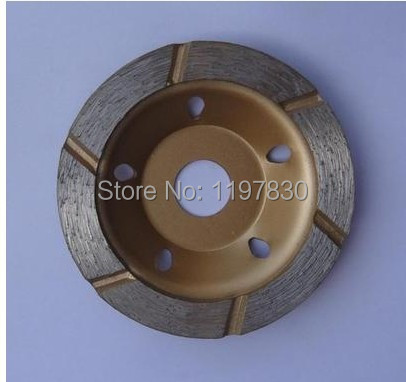 Free Shipping Of Cold Pressed Sintering 80*16*4mm 6 Segments Grinding Disc For Good Grinding As Marble/granite/ceramic/concret