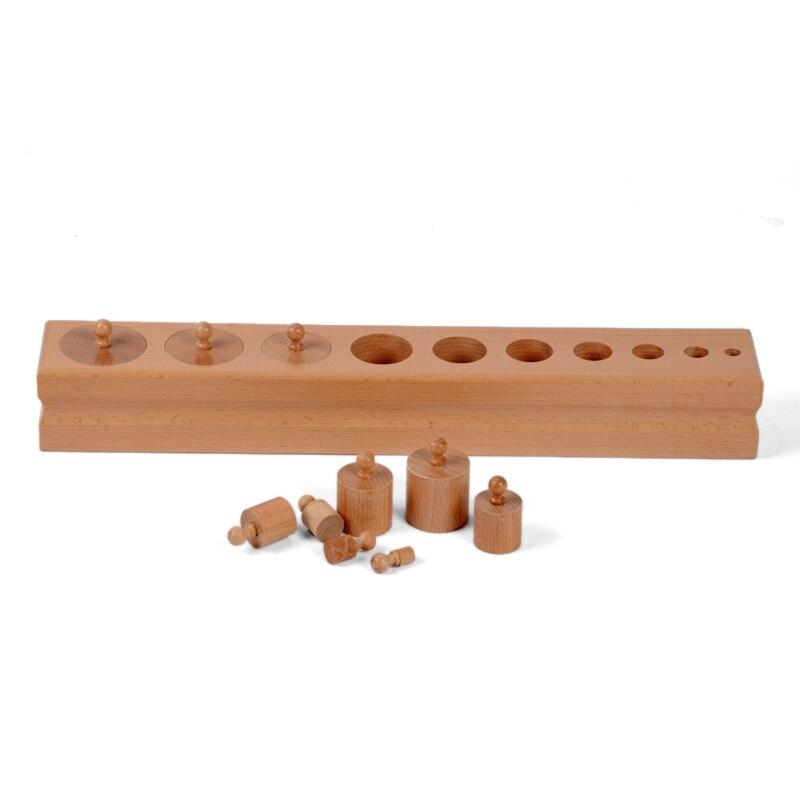 Bébé Jouet Montessori Monocylindre 2 Sensorielle Formation Préscolaire Éducation de la Petite Enfance Brinquedos Juguetes - 6
