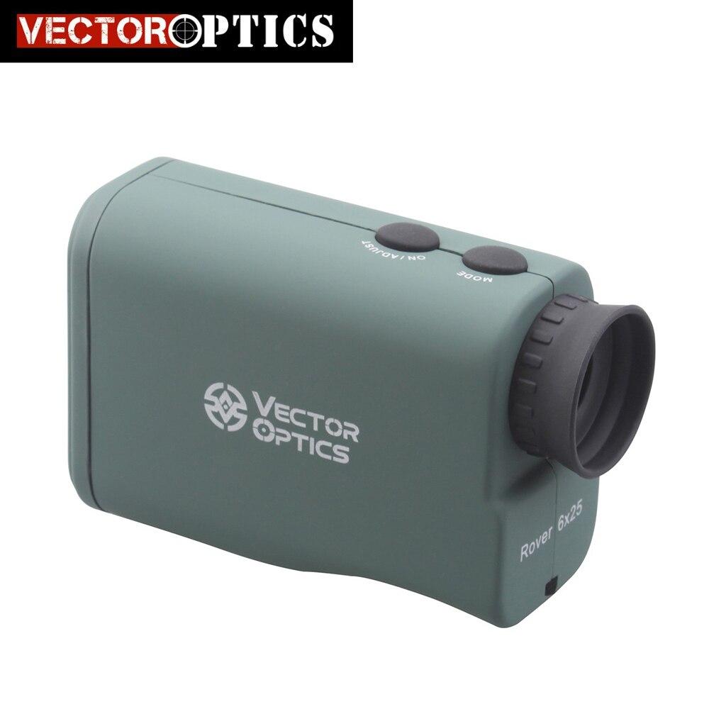Vector Optics Caccia 6x25 Telemetro Laser Monoculare 650 Metro di Distanza Campo di Misura Finder