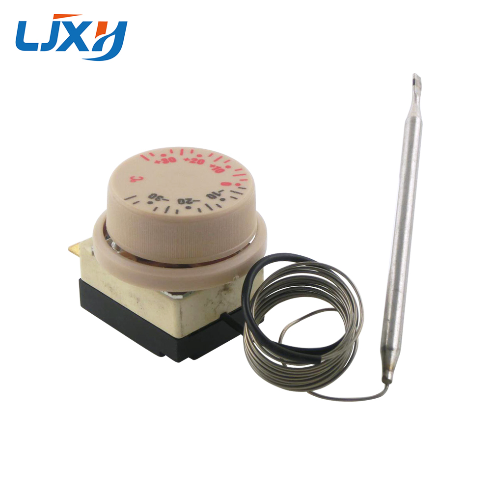 LJXH -30+30 Centigrade Water Heater Parts Temperature Control Swith, Thermostat Knob Refrigerator Temperature Switch Controller цены
