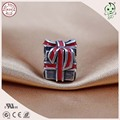 Fashion 925 Real Silver Red Enamel Gift Box Charm Fitting European Famous Bracelet