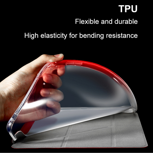 Magnetic Flip Cover Stand TPU Leather Case for iPad Pro 12.9 (2017) by Baseus 5