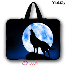 wolf print 7 10 11.6 13 13.3 14 15 17 17.3 inch Notebook Case Laptop Sleeve PC tablet Bag For Macbook Air Pro 13 Retina LB-5084