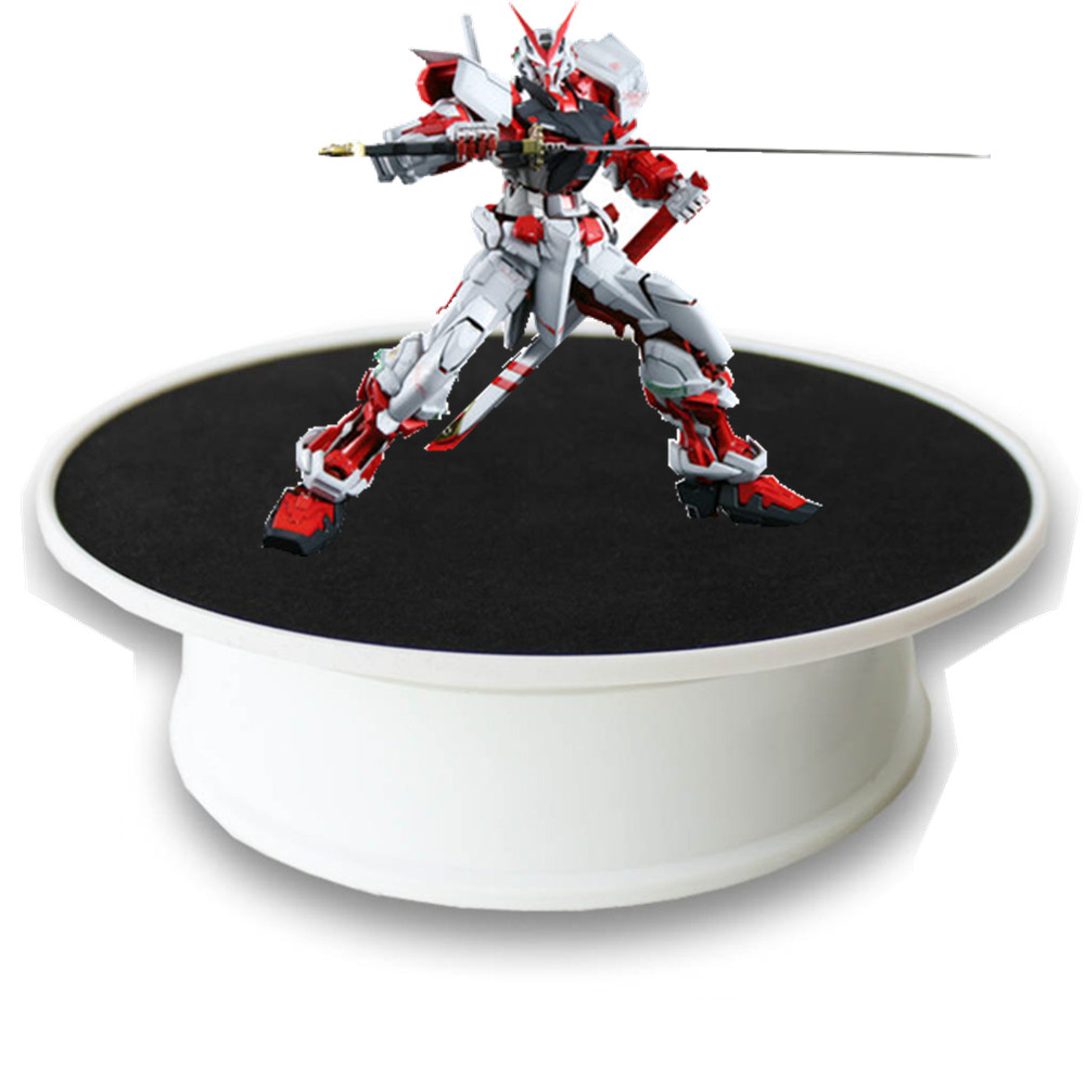 20cm 360 Degree Electric Rotating Turntable Display Stand For Photography Max Load 1kg Video Shooting Props Turntable Battery