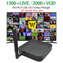 Wechip Minix NEO Z83-4 Smart TV Box Gigabit 802.11AC Dual-Ba