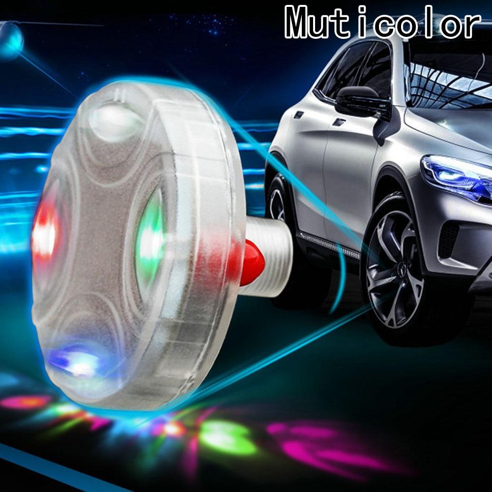 Auto led Rad ventil lichter gasdüsenkappe Lampe Wasserdichte Motorrad-Reifen blitzlicht RGB farbe-