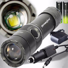 3500LM XM-L T6 LED Rechargeable Flashlight Torch w/18650 2*Battery+2Charger Cycling Bicycle Accessories Top Quality Mar 13