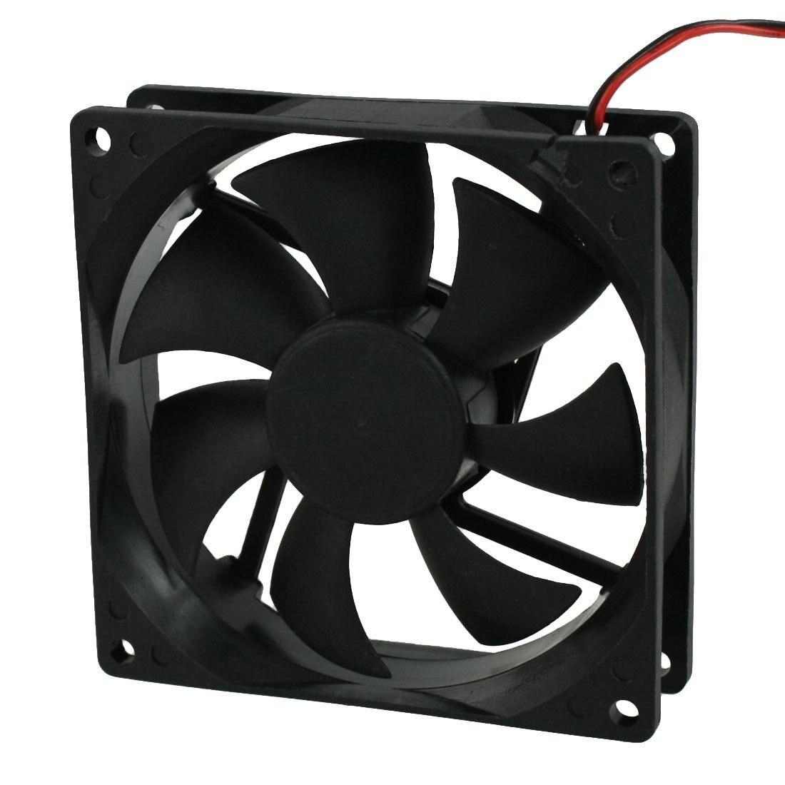 все цены на DC 12V 4 Pin Black Plastic PC Cooling Fan 90mm x 90mm x 25mm