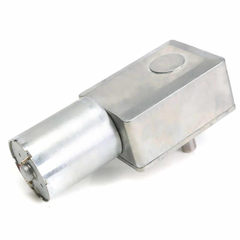 DC 12 V 10 rpm 可逆高トルクターボワームギヤードモーター Dc モータ JGY370 人口