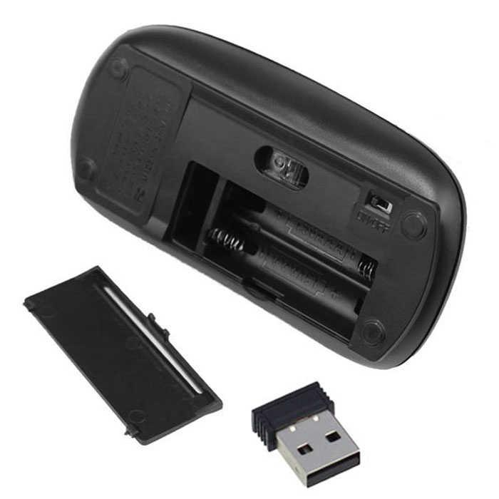 Mousnx 2.4 Ghz の光学式ワイヤレスマウスコンピュータオフィス Usb レシーバー任意の方向に簡単にスクロールノート Pc 用 mac