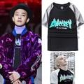 Gosha Rubchinskiy Paccbet T shirts Men Women Hip Hop Brand Clothing Summer Fashion High Quality Cotton Flame GD Thrasher T-shirt