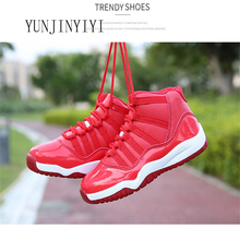 Boys high basketball shoes children's sports shoes breathabl