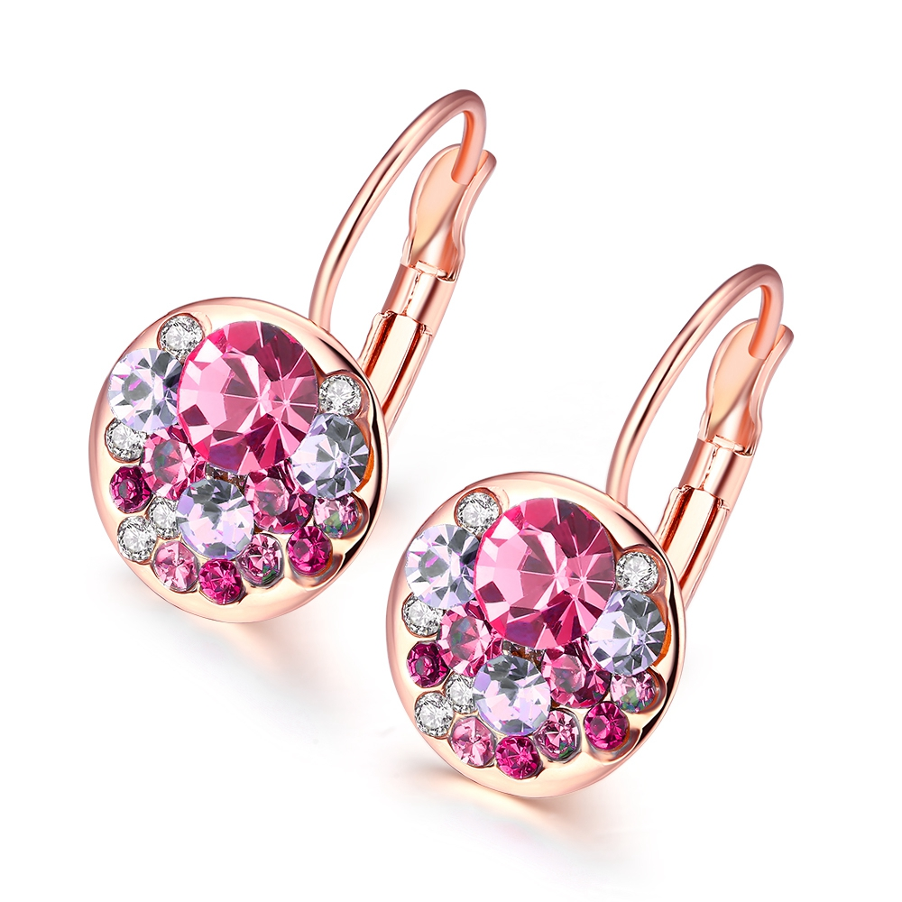 2016 New Fashion Round Earrings Stud Ross