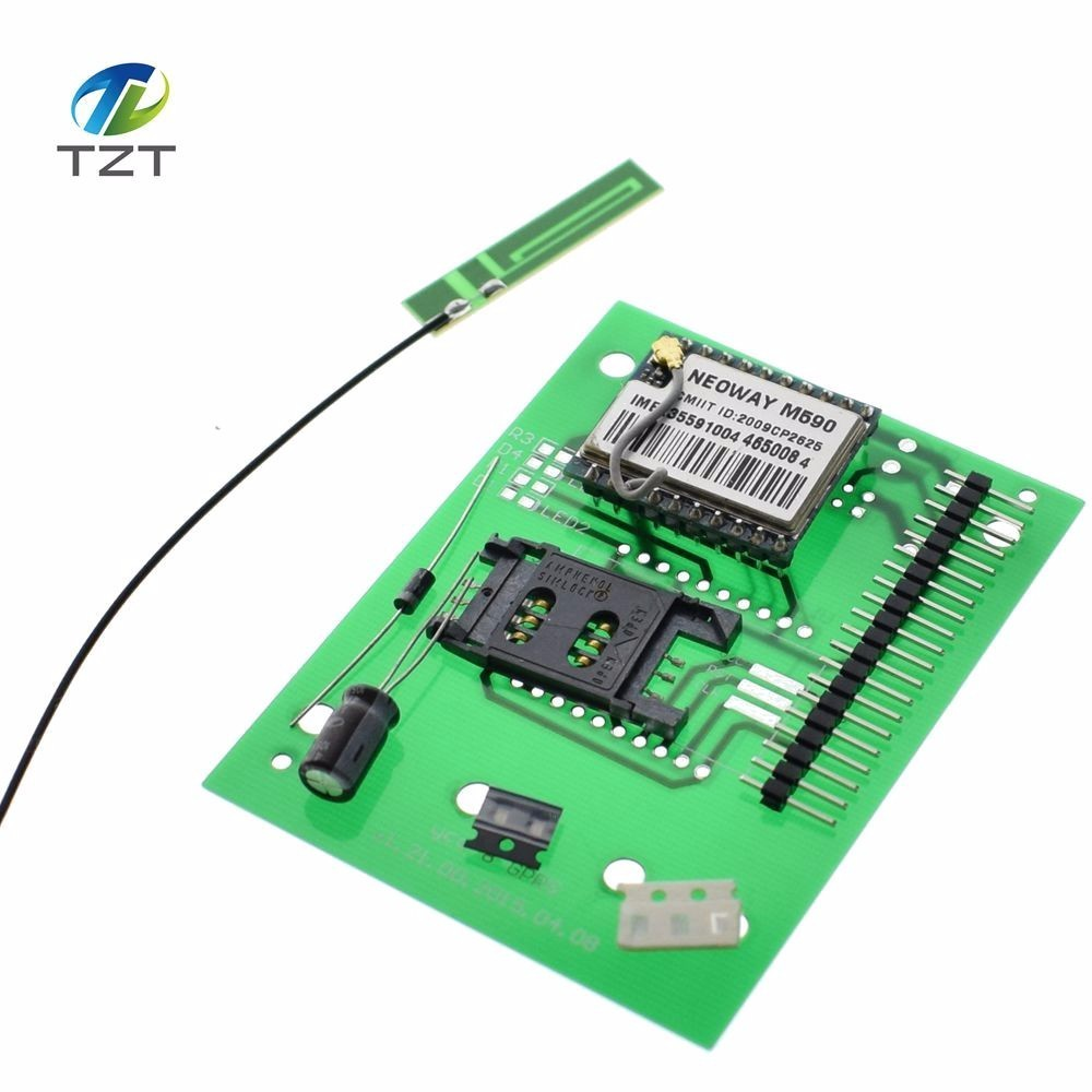 Diy Kit Gsm Gprs 900 1800 Mhz Short Message Service M590 Sms Module Circuit Electronic Production Project Suite Kits Board 1pcs For
