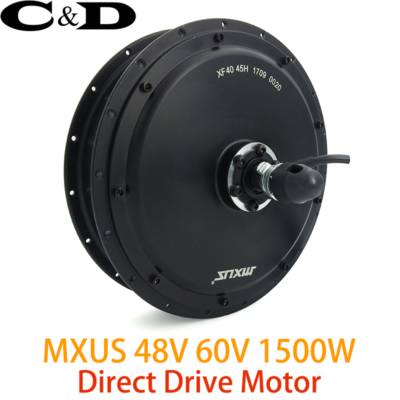 48V 60V 1500W 3T 4T Direct Drive Brushless Hub Motor E bike Motor Rear Wheel Drive