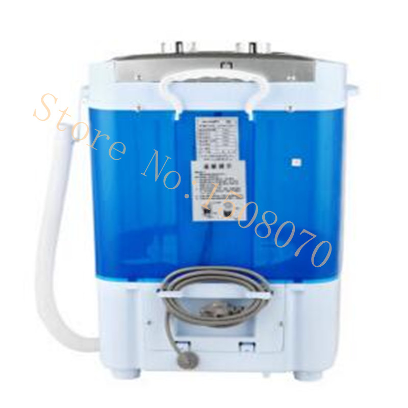 Washing Machine With Dryer Part - 21: Mini Washer Clothes Power Dryer Tub Top Loading Monocular Baby Small Semi  Automatic Washing Machine Drying-in Washing Machines From Home Improvement  On ...