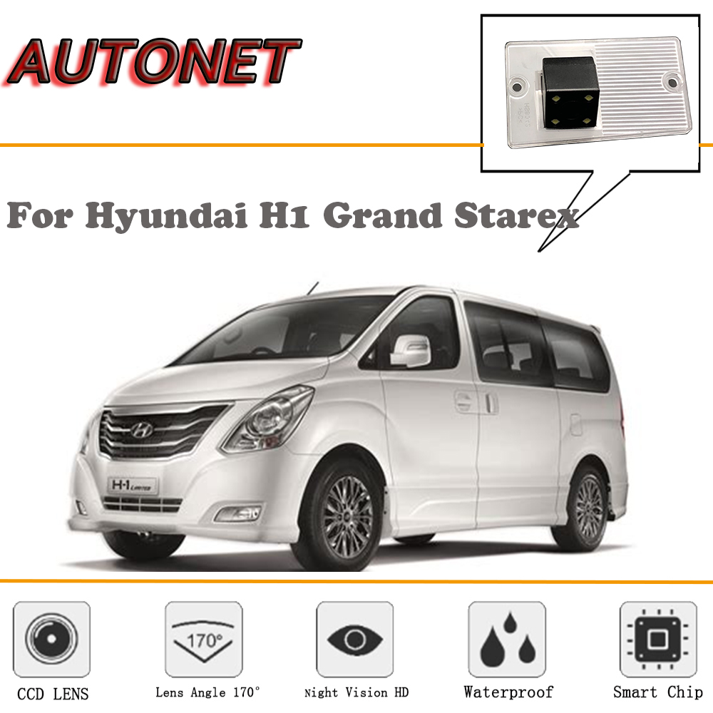 AUTONET Rear View Camera For Hyundai H1 Grand Starex/CCD/Reverse Camera/Backup Camera/Night Vision/license Plate Camera