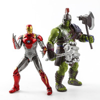 Marvel Homem De Ferro 3 Action Figure Superhero Hulk Homem de Ferro Tonny Mark 42 Mark 43 PVC Figure Toy 18 cm Chritmas Presente A220