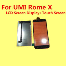 100% Original For UMI Rome X  LCD Screen Display+Touch Screen Replacement Accessories For UMI RomeX