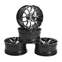 4PCS RC 1 10 On Road Drift Racing Aluminum Wheel Rim Fit HSP HPI Kyosho 1