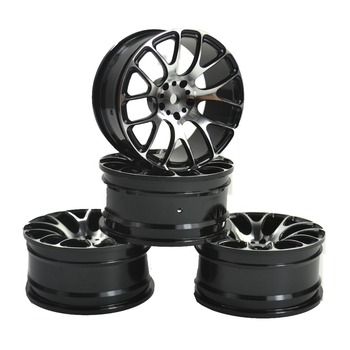 4PCS Aluminum Alloy Wheel Rims for 1/10 RC Drift On-Road Racing Car Touring Upgrade Parts HSP Redcat HPI Himoto Kyosho Sakura 4pcs 1 8 rc car rubber tyres plastic wheels for redcat team losi vrx hpi kyosho hsp carson hobao 1 8 buggy on road car