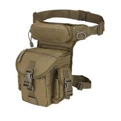 Tactical Backpack Bag Outdoor Sport Camping Hiking Trekking Waist Leg Bag Military Shoulder Bag Multi-function Saddle Bag