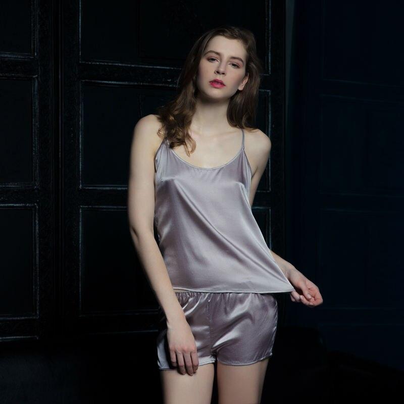 nuevo producto 78e6c 9e2d0 De las mujeres Conjunto de Pijama Sexy Ropa de Dormir de ...