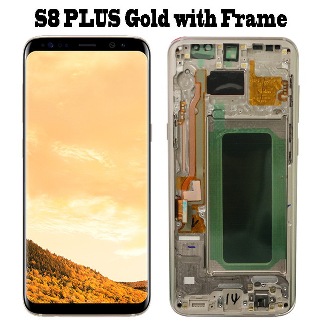 S8 Plus Gold Frame