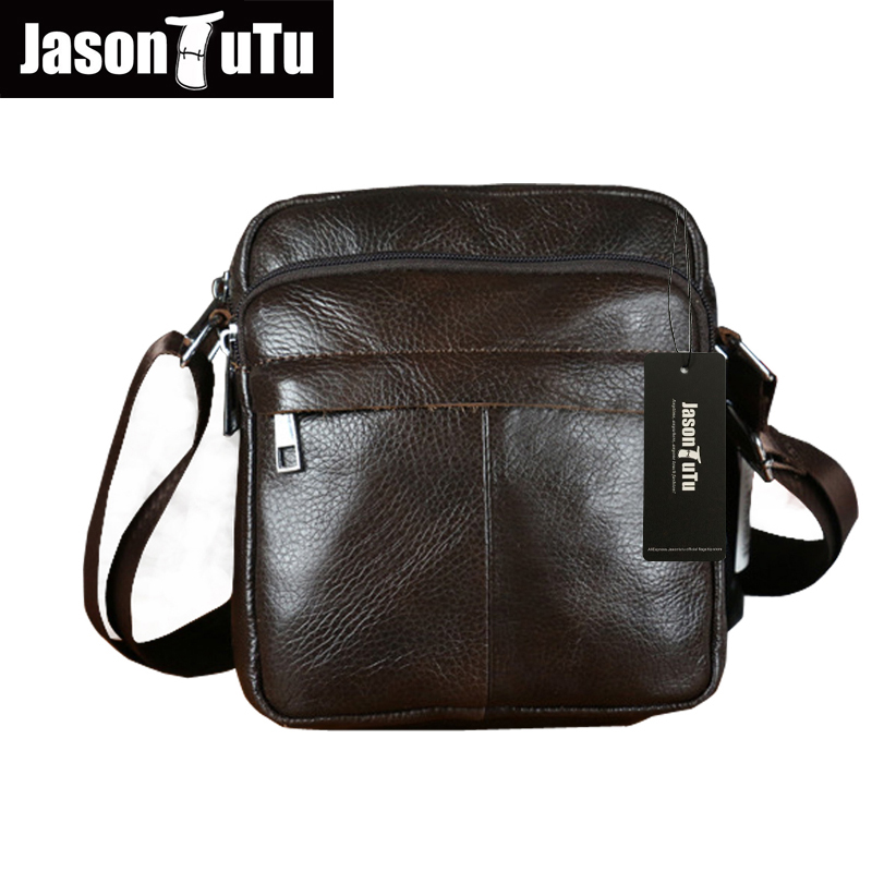 Подробнее о Genuine Leather Men Shoulder Bags New Fashion Hot Male Handbag Small Crossbody Messenger Bag Travel Bolsa Brown Men's Satchels top genuine cowhide leather men bags male small messenger bag fashion crossbody shoulder bag men s vintage travel new bag bolsa