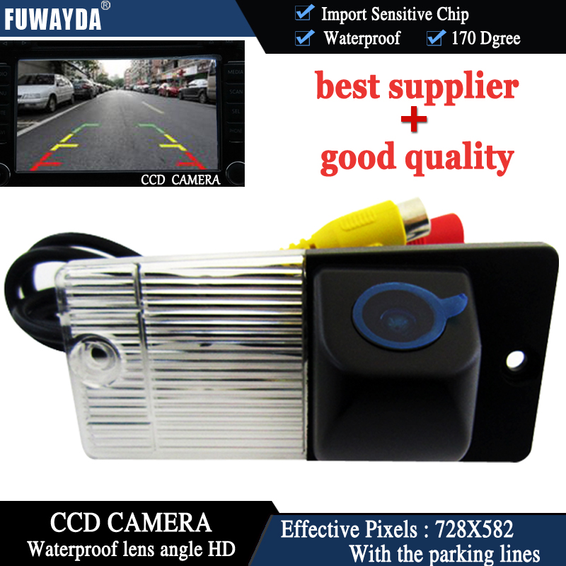FUWAYDA CAR REAR VIEW REVERSE BACK CCD/170 DEGREE/WATERPROOF/NIGHT VISION/WITH REFERENCE LINE CAMERA FOR KIA SPORTAGE/SORENTO