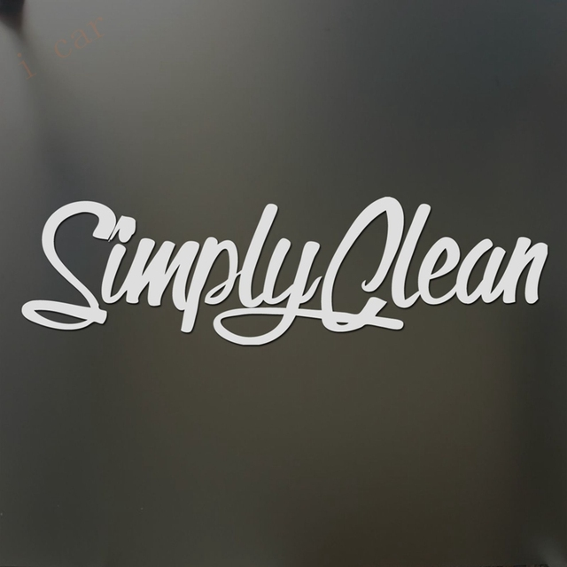 Simply Clean Sticker V2 Funny Jdm Lowered Car Truck Window