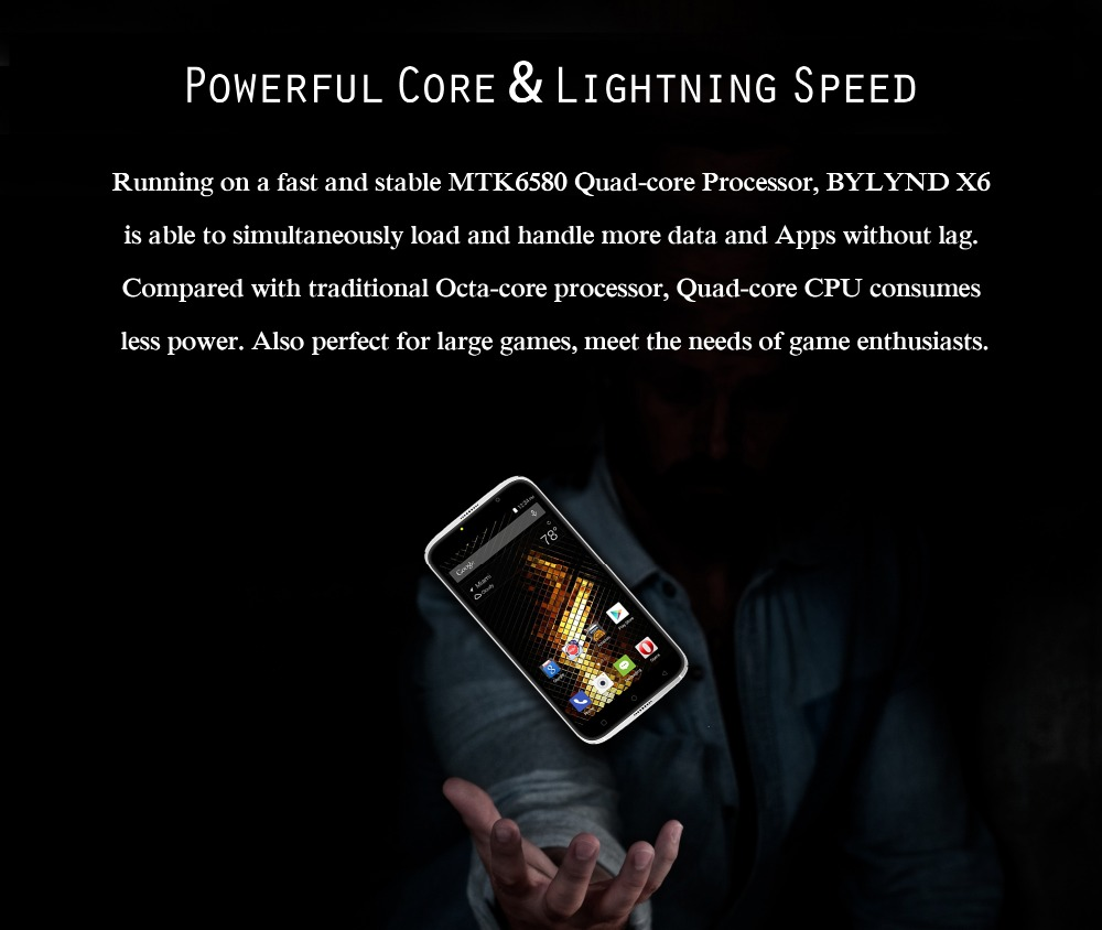 Powerful  Core  &  Lightning  Speed