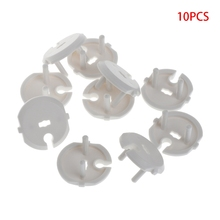 10Pcs UK French EU US Power Socket Outlet Mains Plug Cover Baby Child Safety Protector Guard
