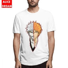Men's Quality HOLLOW SIDE Bleach T-shirt Kurosaki Ichigo 3D Print Camiseta Round Collar S-6XL Big Size Homme Tee Shirt t shirt casual cowboy bebop tee shirt unique design camiseta round collar s 6xl tee birthday gift t shirt 3d print