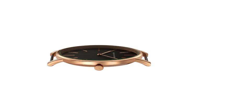 HTB1.m5QcuSSBuNjy0Flq6zBpVXay Dropshipping High Quality Rose Gold Dial Watch Men Leather Waterproof Wristwatch Women Dress Fashion Japan Quartz Movement Saat