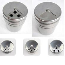 Multifunction Practical Stainless Steel Spices Seasoning Extracts Toothpick Case Dispenser Kitchen Accessories Salt Pepper Herbs