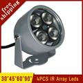 Outdoor Waterproof  Metal Shell Surveillance 4pcs Infrared Array led Lamp IR illuminator Night Vsion Fill Light  Free Shipping