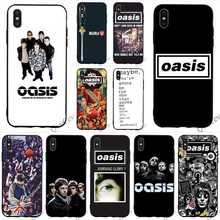 Fashion Oasis Band Liam Noel Galagher Phone Cover for iPhone 8 Plus Case 6 6S XR Xs Max X 7 5S 5 SE Soft