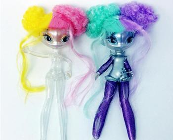 Новый Figur кукла инопланетная принцесса звезды кукла прозрачный корпус несколько суставов тела элемент набор Рождество подарок на день рожд...