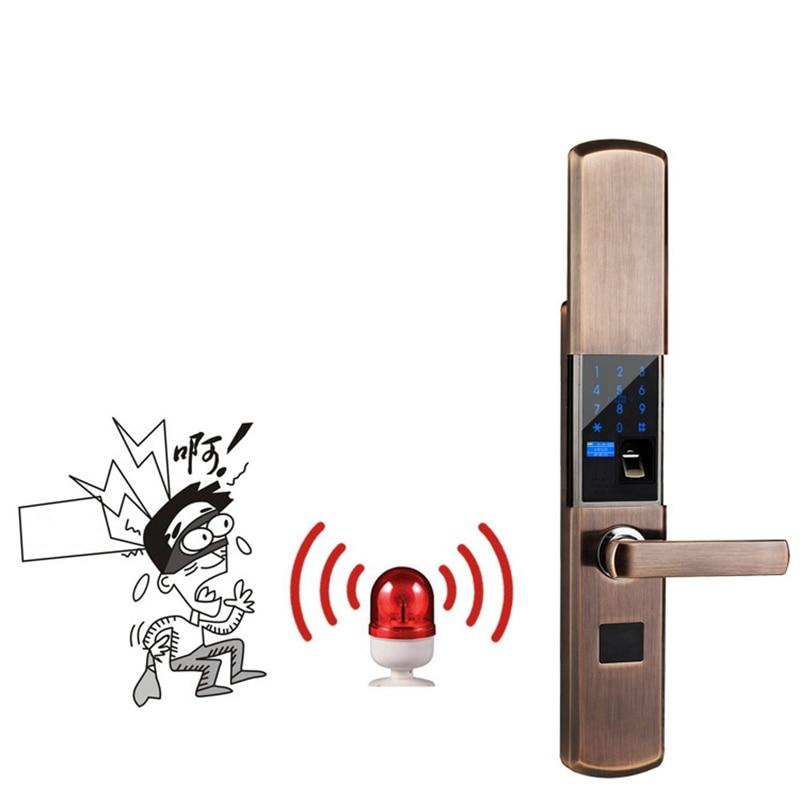 Security Smart Fingerprint Lock Digital Electronic Door Lock For Home Anti theft Intelligent Lock Password RFID Card - 3