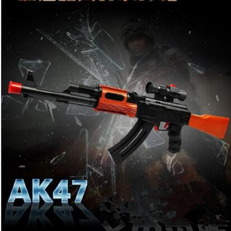 AK 47 Toy Gun Cosplay The Coolest Children Gift gun Paintball Air gun outdoor fun sports Airsoft Air Guns Childrens