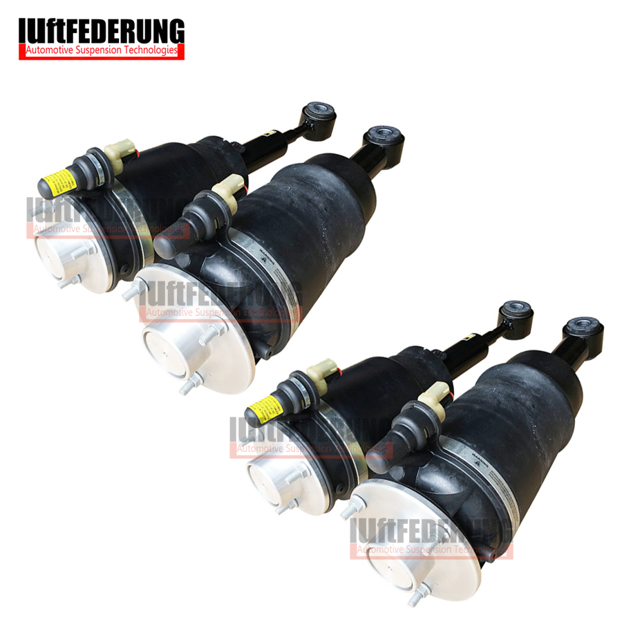 Luftfederung 4pcs Front Suspension Shock Rear Suspension Air Spring Fit Ford Expedition Lincoln Navigat 3L1Z18124CA 6L1Z18A009DA
